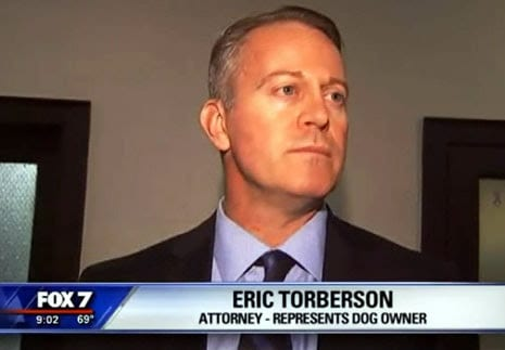 Eric Torberson interviews after defending 6 dogs lives that the state was trying to have killed.