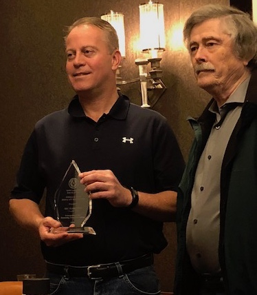 Eric Torberson receiving 2018 State Bar of Texas Award