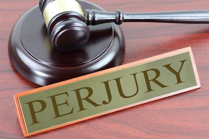 Perjury Definition