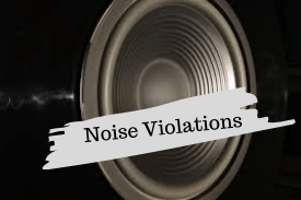 Texas Noise Violation Ordinance